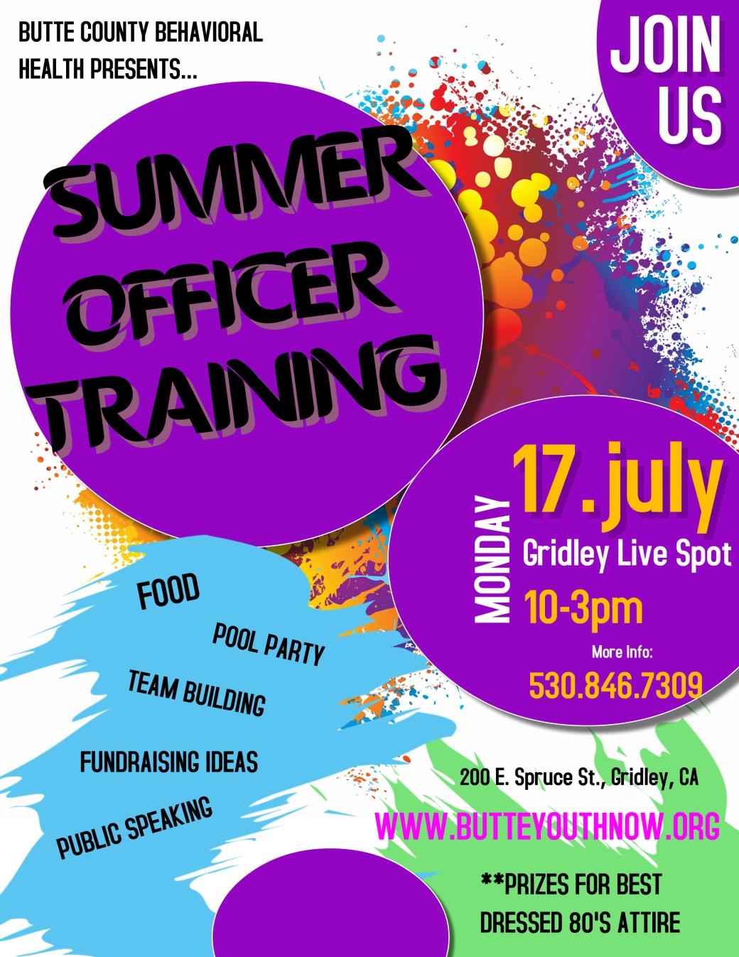 GLS Summer Officer Training 7.17.17